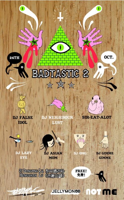 Badtastic 2 Flyer